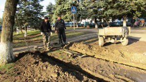 Тротуар по ул.Советской